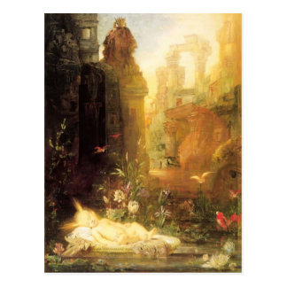Young Moses by Gustave Moreau Postcard