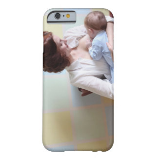 young mother breast feeding her baby boy barely there iPhone 6 case