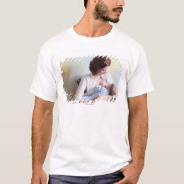 young mother breast feeding her baby boy T-Shirt