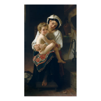 Young Mother Gazing at Her Child - Bouguereau Business Card