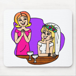 Young Mother of the Bride Mouse Pad