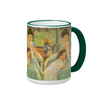 Young Mother Sewing by Mary Cassatt Coffee Mugs