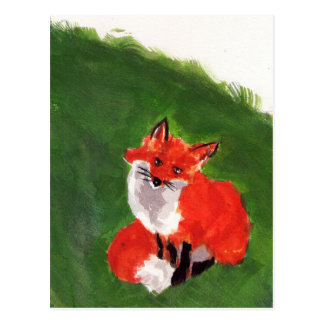 Young Mr. Fox Postcard