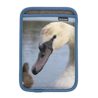Young Mute Swan iPad Mini Sleeve