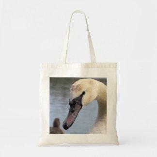 Young Mute Swan Tote Bag