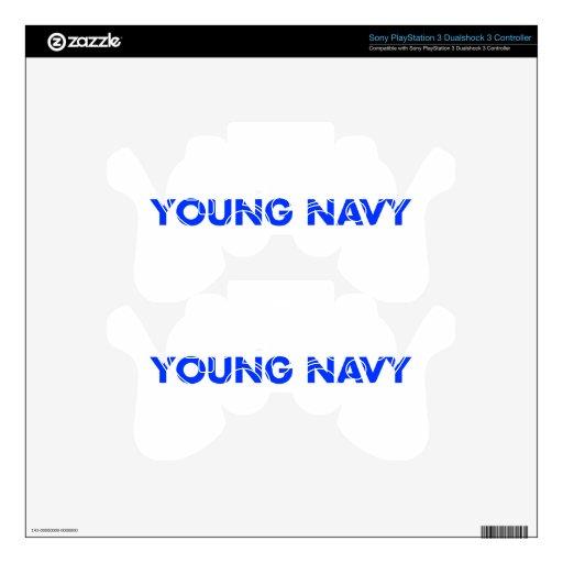 young-navy-blue.png calcomanía para mando PS3