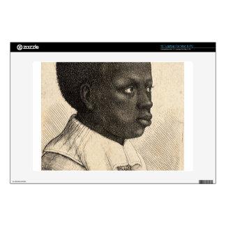 "Young Negro by Wenceslaus Hollar 13"" Laptop Skin"