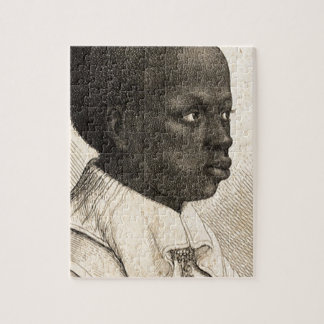 Young Negro by Wenceslaus Hollar Puzzle