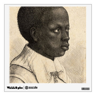 Young Negro by Wenceslaus Hollar Wall Decal
