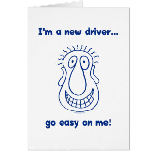 Young New Teen Driver Card