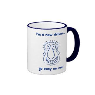 Young New Teen Driver Ringer Mug