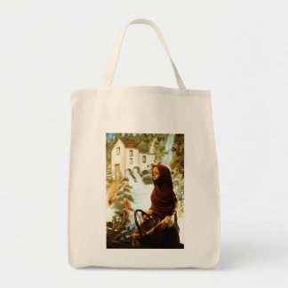 Young nordic girl tote bag