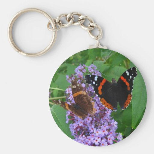 Young & Old butterfly ~ keychain
