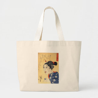 Young Old Woman Canvas Bag