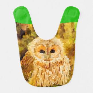 Young Owl Bibs