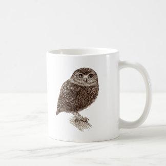 Young Owl Coffee Mug