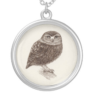 Young Owl Necklaces