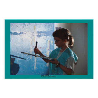 Young Painter Print