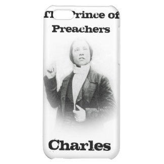 Young Pastor Spurgeon Speck Case Cover For iPhone 5C