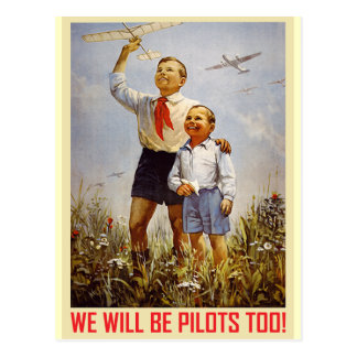 Young Pilots Post Card