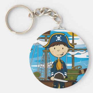Young Pirate Captain Keychain