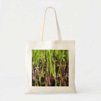 Young Plant Shoots Tote Bag