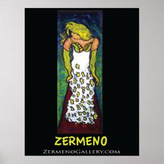 """Young Princess Di"" by Zermeno Poster"
