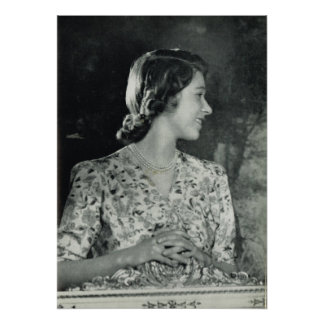 Young Princess Elizabeth Poster