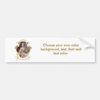 Young Princess Louise Marie of France Sticker Car Bumper Sticker