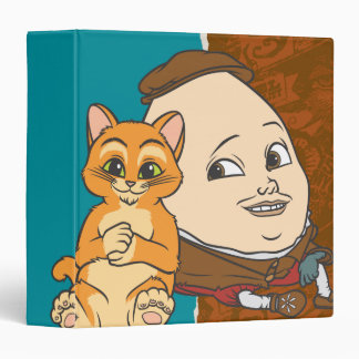 Young Puss Humpty 3 Ring Binders