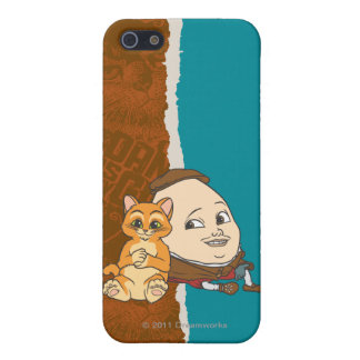 Young Puss & Humpty iPhone SE/5/5s Cover