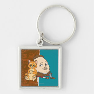 Young Puss & Humpty Keychain