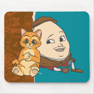 Young Puss & Humpty Mouse Pad