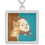 Young Puss & Humpty Pendant