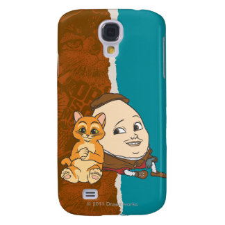 Young Puss & Humpty Samsung Galaxy S4 Case
