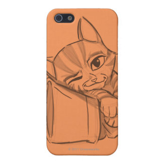 Young Puss In Boots iPhone SE/5/5s Case