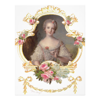 Young Queen Marie Antoinette Pink Roses Cards