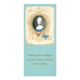 Young Queen Marie Antoinette Rack Card