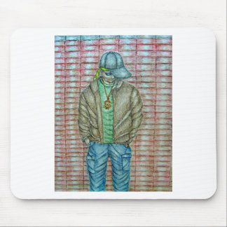 young rapper mouse pad
