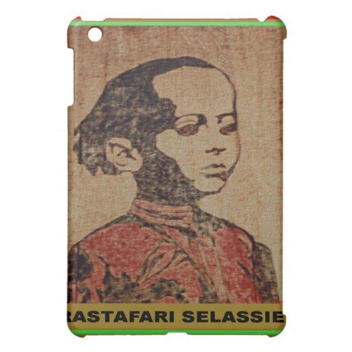 Young Ras, Young Haile Selassie I, Jah Rastafari iPad Mini Cases