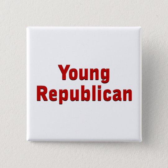Young Republican Pinback Button