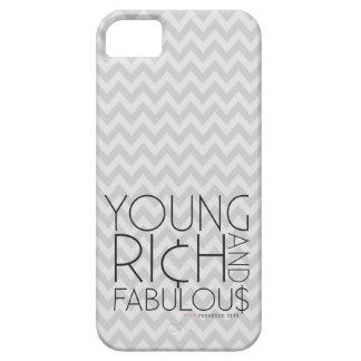 Young Rich & Fabulous Chevron iPhone SE/5/5s Case