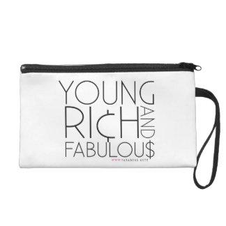Young Rich & Fabulous Wristlet Purse