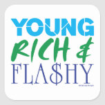Young Rich & Flashy Stickers