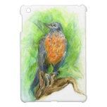 Young Robin, Watercolor Pencil Cover For The iPad Mini