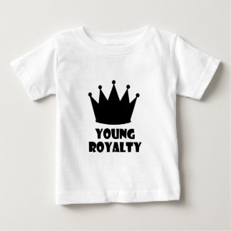 Young Royalty 5 Star Crown Collection Baby T-Shirt