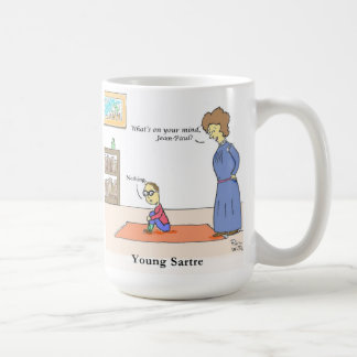 Young Sartre Mug