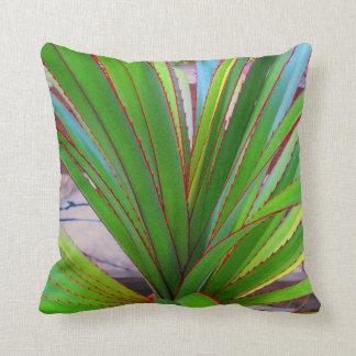 Young Screw Pine Throw Pillow
