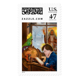 Young Scrooge Postage