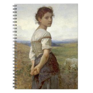 Young Shepherdess 1885 Notebooks